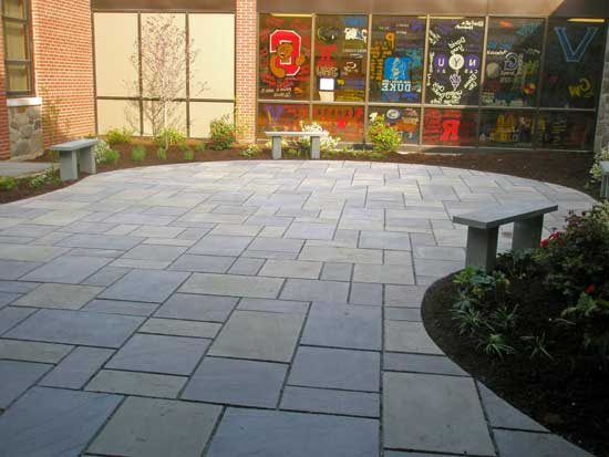 After - Courtyard at a Private School in Bergen County